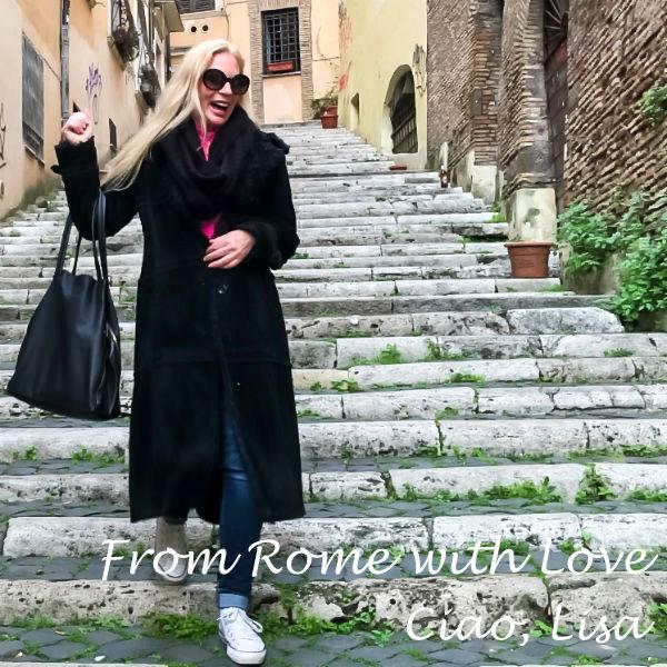Lisa van de Pol in Rome, Monti, Casa Cuore di Roma