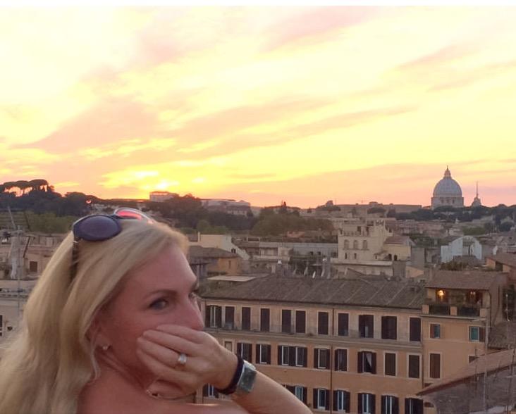 Lisa van de Pol | Italian Summers in Rome. La Ddolce Vita in Rome. Rome apartment Casa Cuore di Roma #lovitalia